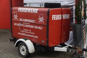Feuerwehr für die scharfe Currywurst Nr.7