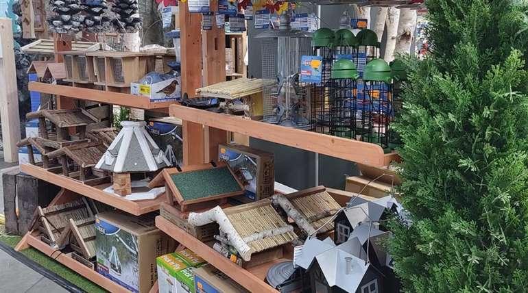 13.10.2021 – Tolle Wintervogelhäuser eingetroffen