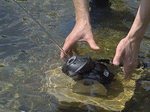 Düsen im Wasser